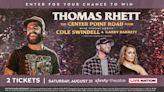 Thomas Rhett Live Nation Concert Sweepstakes