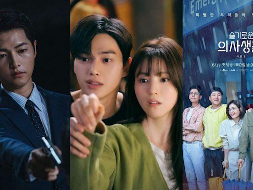NETFLIX韓劇積分排行榜TOP5!《機智醫生》只有第五,冠軍狂超車《無法抗拒的他》被封人生韓劇!