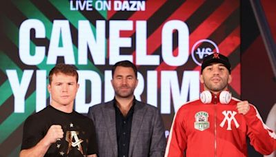 Canelo vs Yildirim: What time does the fight start in the UK and when are the ring walks ?