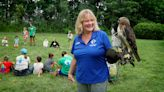 RI Audubon Society's wildlife educator Lauren Parmelee is a force of nature
