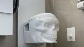 This Skull-Shaped Toilet Will Add A Spooky Vibe To Your Bathroom