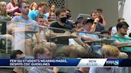 Few ISU students wearing masks despite CDC guidelines
