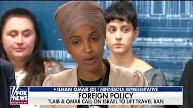 Reps. Omar, Tlaib push back on Israel, President Trump