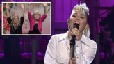 SNL: Miley Cyrus Opens Elon Musk Episode With Mother's Day Salute