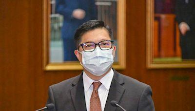 鄧炳強:有人借書籍荼毒學生反對政府 冀23條盡快立法