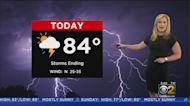 Storms Linger Thursday Morning