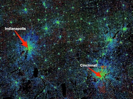 A stunning new video shows how cities exploded onto the US map over the last 200 years