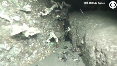 WEB EXTRA: Volcanic Ash Underwater In Spain