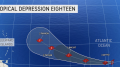 New tropical depression forms over open Atlantic, is one to watch closely