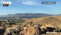 Hot air balloons soar through the sky on a gorgeous Reno day