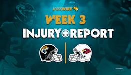 Jaguars injury report: 3 defensive players questionable vs. Cardinals