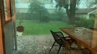 Severe Hail Hits Town of Armidale in New South Wales