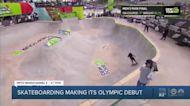 Local skateboard pro heading to the Olympics