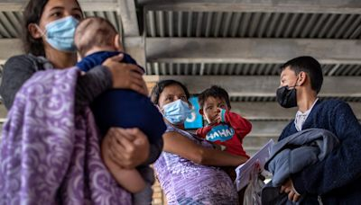The Biden administration reinstated fast-track deportation flights for families amid renewed pressure to address the southern border surge