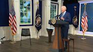 Biden gets COVID-19 booster shot on camera