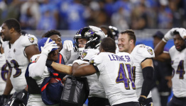 Officials miss delay of game before Justin Tucker's record-setting, game-winning field goal