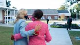 Jill Biden paid a surprise visit to the woman who helped her regain faith in God