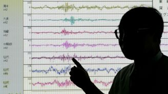 Earthquake hits japan