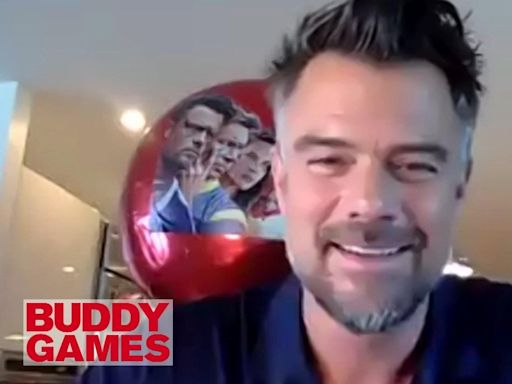 Josh Duhamel on Getting His Butt Kicked By 'Buddy Games' Co-Star Olivia Munn (Exclusive)