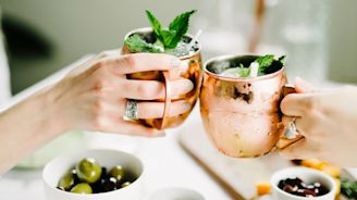 The Best Moscow Mule Mugs for Festive Holiday Happy Hours