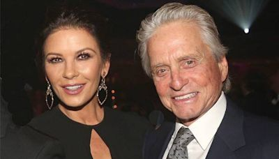 Watch Catherine Zeta-Jones Hilariously Troll Husband Michael Douglas' Dancing Skills