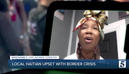 Local Haitian upset with how border crisis is being handled