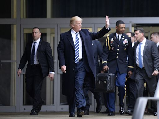 Trump won't hand Biden the nuclear football. Here's how the handoff will happen.