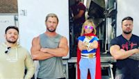 Chris Hemsworth's Son Is Training to Be a Superhero Just Like Dad - E! Online Deutschland