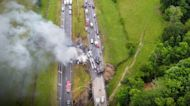 10 killed in Alabama hydroplaning crash