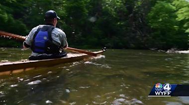 WNC kayak maker turns boat making into art