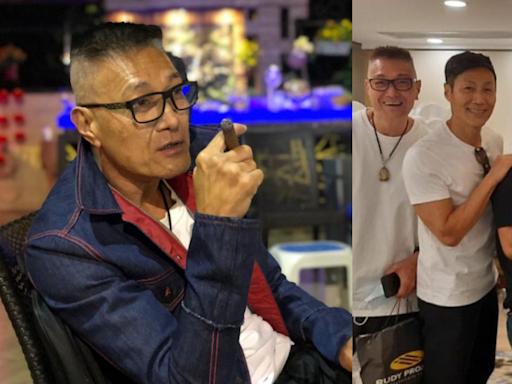 錢嘉樂、盧惠光出席聚會 昔日武打影星重聚 60+仍風騷英俊?