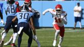 Chiefs snap counts: Josh Gordon's playtime going in wrong direction