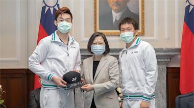 快新聞/總統府接見世界羽聯年終賽選手 蔡英文:戴資穎辛苦了 台灣謝謝妳