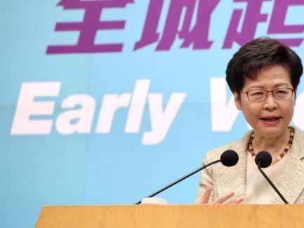 信報即時新聞 -- 特首:來港易計劃因廣州疫情須放緩