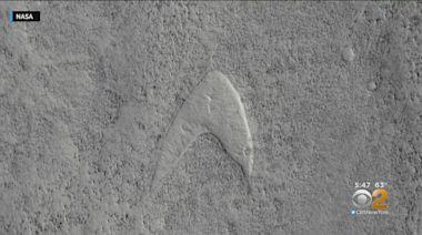 NASA Finds 'Star Trek' Symbol On Mars