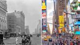 Then and now: these cities don't look like they used to