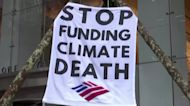Activists target Wall St on climate change