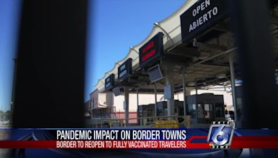 Borders set to open to fully vaccinated visitors on Nov. 8