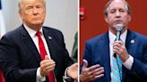 Texas Attorney General Ken Paxton gets all-important endorsement from Donald Trump over fellow Republican George P. Bush