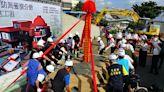 花蓮豐濱消防分隊新家動土 消防栓造型超搶眼