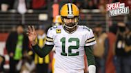 """""""Aaron Rodgers hasn't gotten what he wants"""" — Greg Jennings on Packers' QB turning down a 2-year extension I SPEAK FOR YOURSELF"""