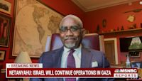 Rep. Gregory Meeks (D-NY) calls for Israel-Hamas ceasefire