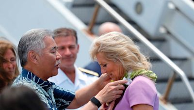 Jill Biden sent to hospital after getting object lodged in her foot on Hawaii beach