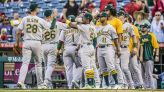 A's Beat Angels 3-2, Stay in Wild Card Race