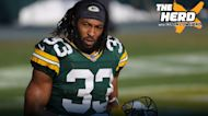 Colin Cowherd: 'It's a smart move for Packers to re-sign Aaron Jones on $48M deal' | THE HERD