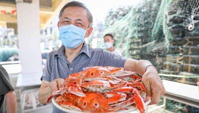 5百元五倍券換1千元!一起來北海岸吃萬里蟹