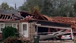 Damage Seen After 'Likely Tornado' Touches Down in Wickliffe