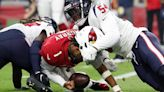 Kyler Murray insists he is OK after taking some big hits Sunday