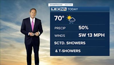 Noon weather forecast