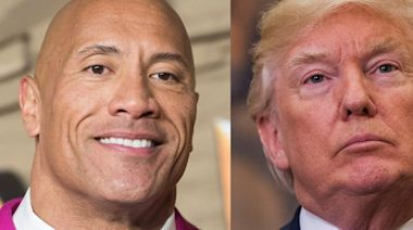 Dwayne Johnson mocks Donald Trump and says he won't concede to Michael B. Jordan becoming People's 'Sexiest Man Alive'